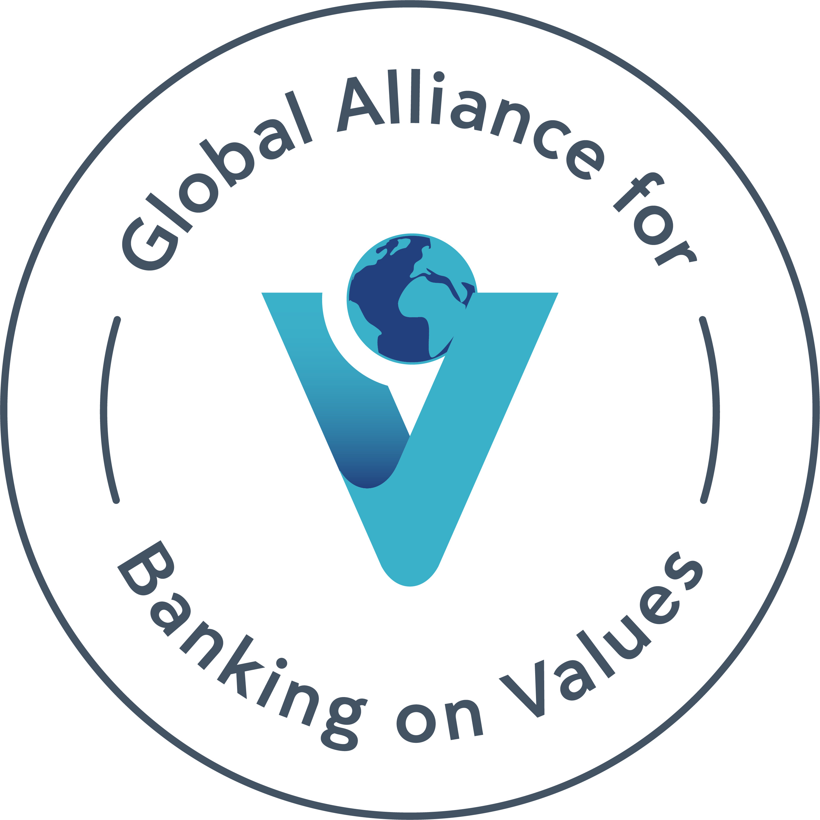 Global Alliance for Banking on Values decorative logo
