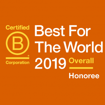 Image for 2019 Best for the World Honoree