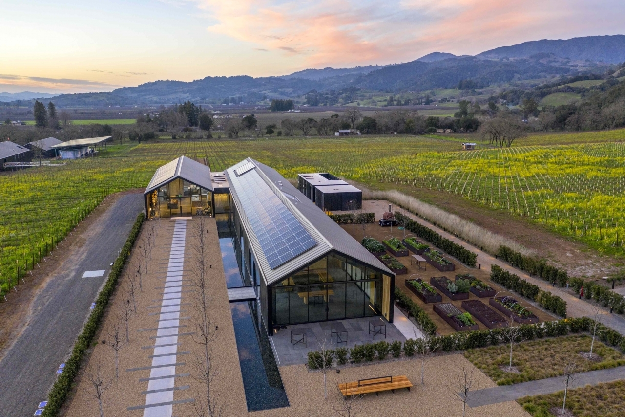 Silver Oak Winery recently became the world's first production facility to earn the International Living Future Institute's prestigious Living Building Certification.